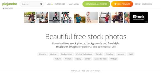 Picjumbo get free images