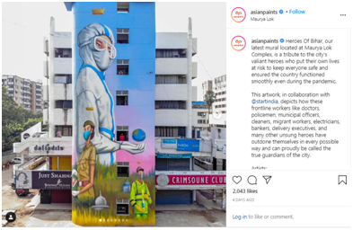 Asian Paints instagram