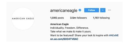 Instagram American Eagle