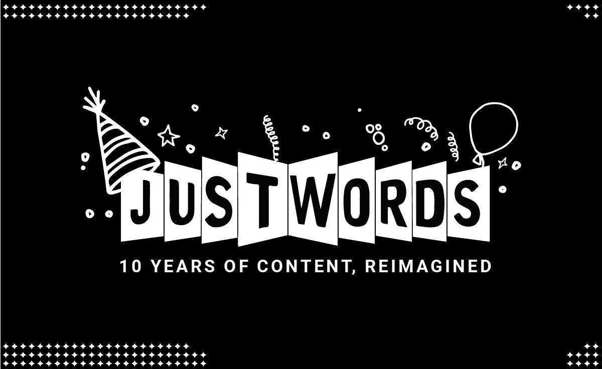 Justwords Turns 10 years