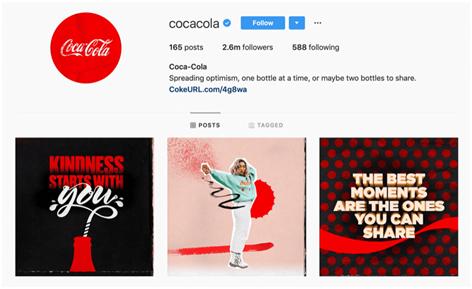 Coca-Cola Insta Post