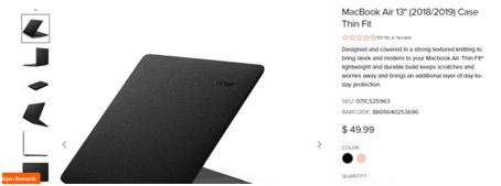 MacBook Air product description