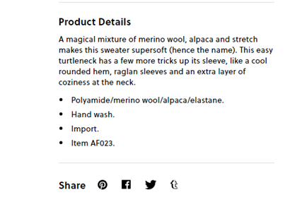 describe the super soft materials