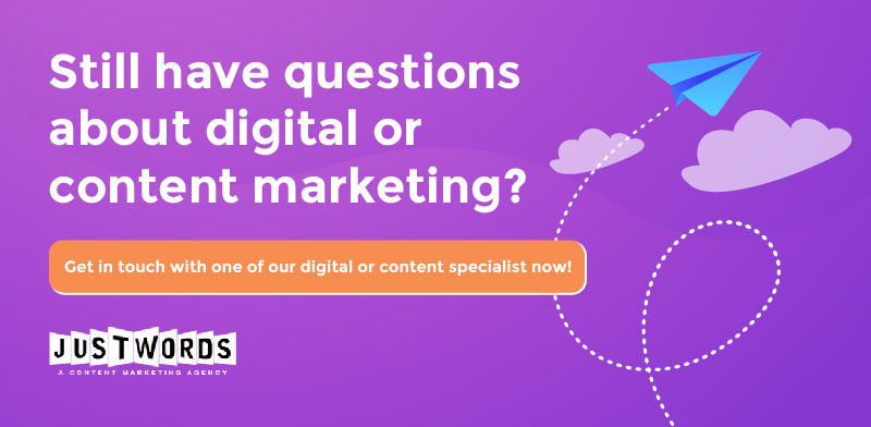 Content Marketing vs. Digital Marketing CTA
