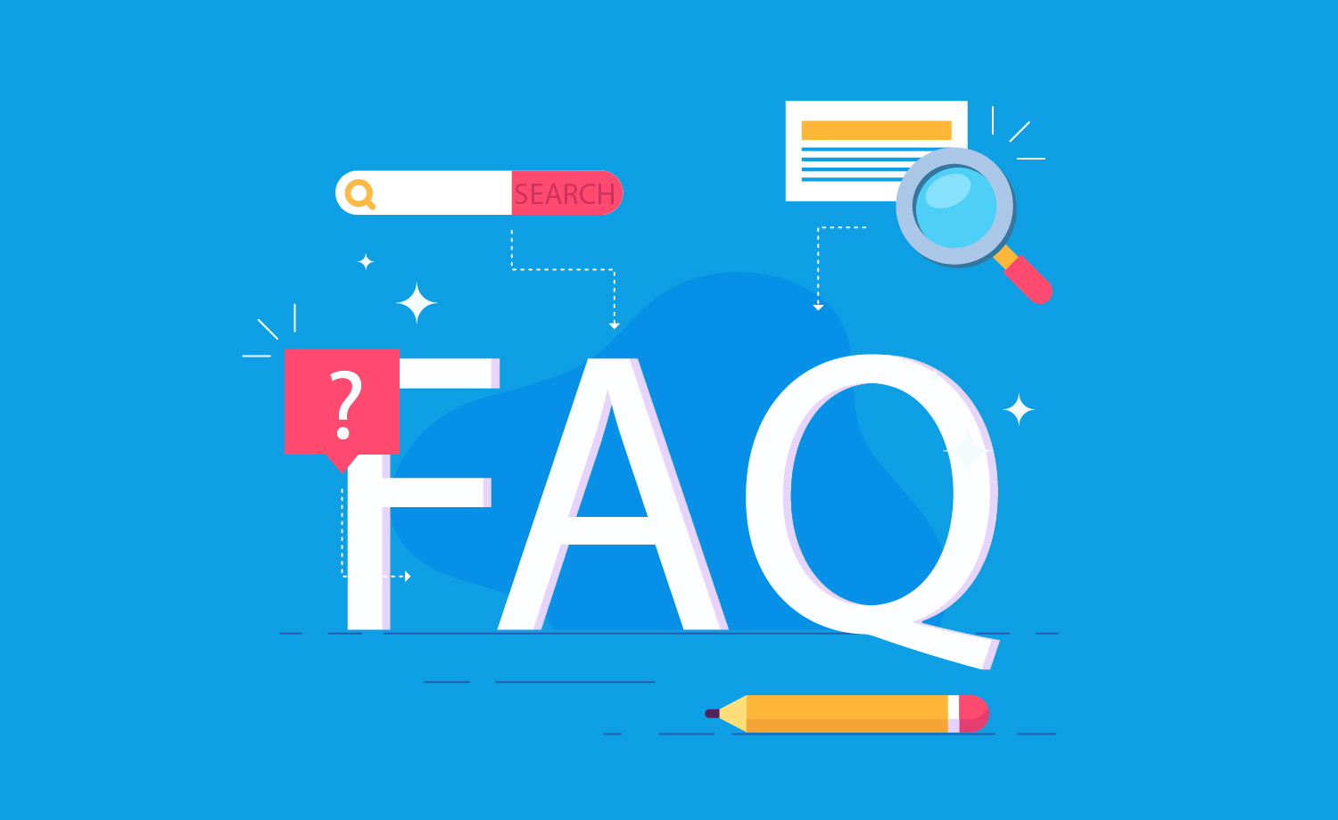 Answers to FAQs content marketing agency