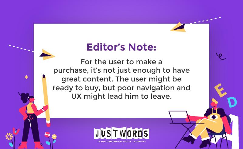 buyer journey editor note