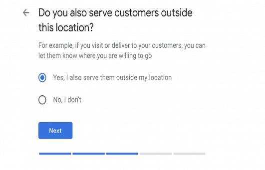 location you serve gmb